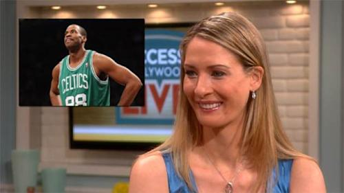 Carolyn Moos appears on Access Hollywood Live on May 1, 2013 -- Access Hollywood