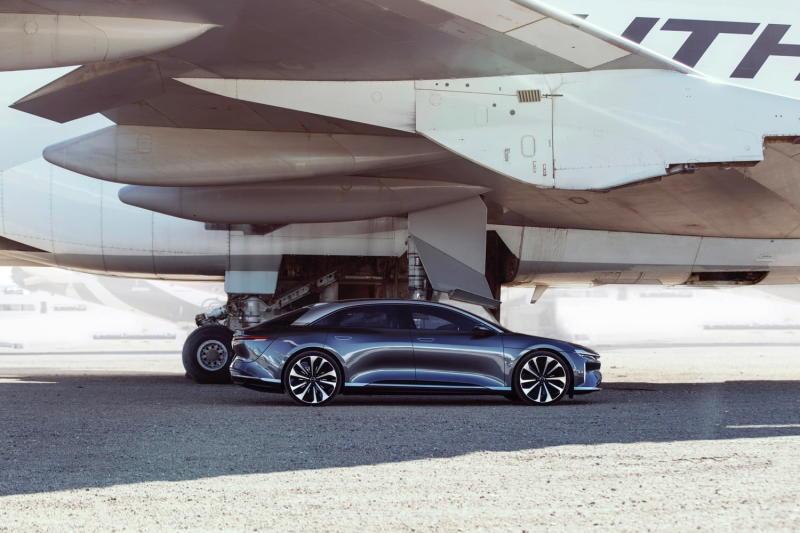Lucid Air electric car profile