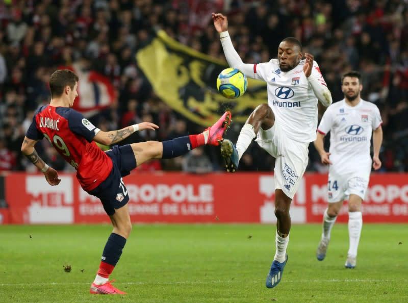 Lyon make Cameroon forward Ekambi's move permanent