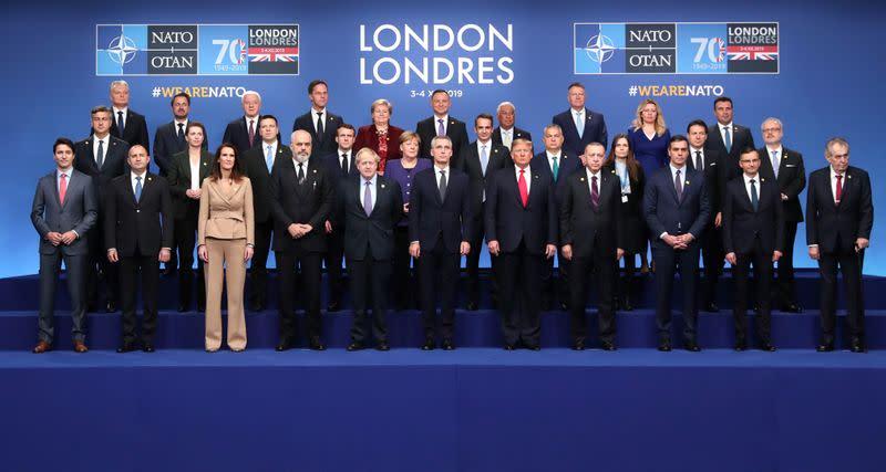 NATO Alliance summit in Watford