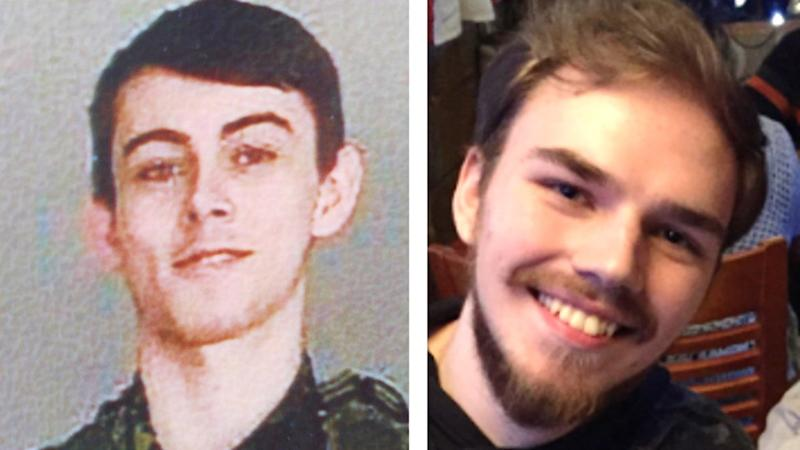 A police handout photo of Bryer Schmegelsky Kam McLeod both 19. The fugitives have been found dead after a lengthy search. Source: RCMP