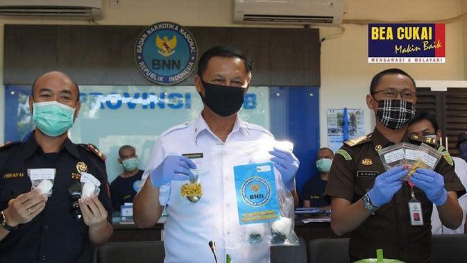 Pastikan Tak Disalahgunakan, Bea Cukai Ikut Musnahkan Narkotika di Mataram