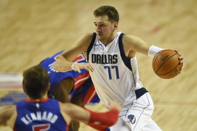 Doncic edges Giannis for early NBA All-Star voting lead