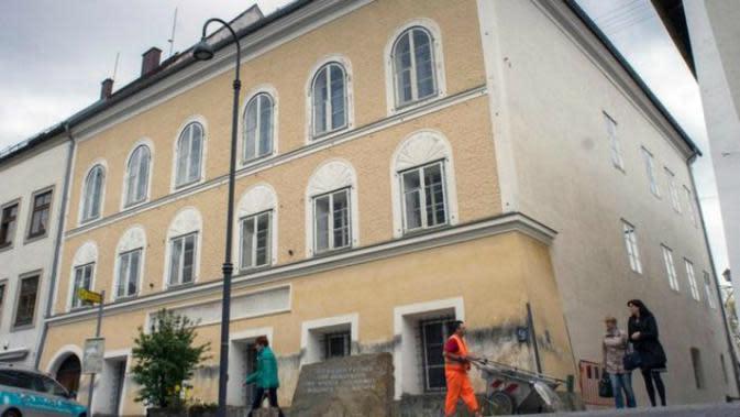 Pemerintah Austria Berencana Meruntuhkan Rumah Tempat Hitler Lahir (Foto AFP)