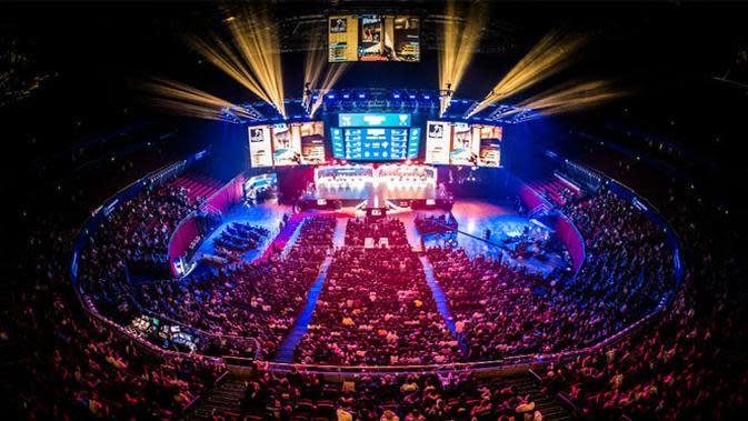 Suasana pertandingan eSports. (Doc: ESL)