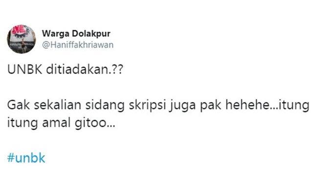 Curhatan netizen (Sumber: Twitter/Haniffakhriawan)