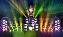 獨/國慶光雕10月6日點燈 總統府化身「燈塔」