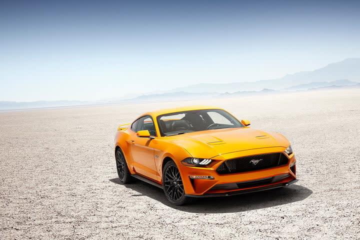 Camaro vs Mustang ford desert
