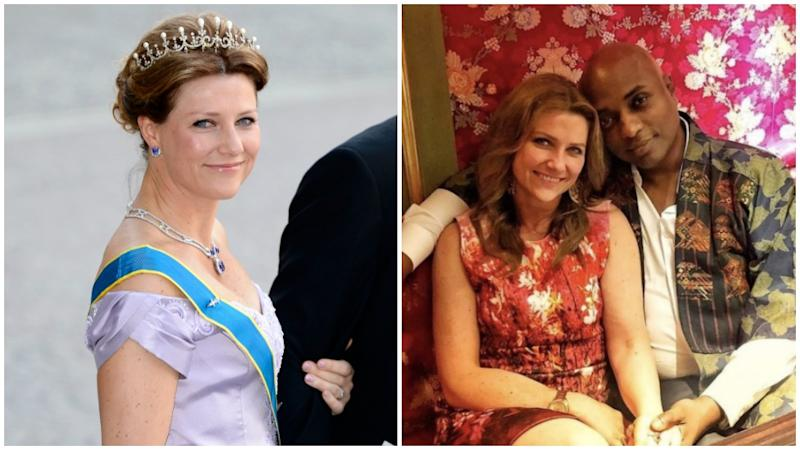 Princess Märtha Louise is the daughter of King Harald of Norway and has caused controversy after going on a spiritual tour with her American partner Durek Verrett.