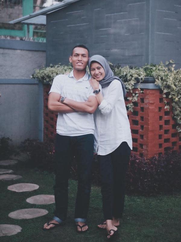Foto Jian Batari Anwar dan Suami Credit: Brilio.net/Instagram@JianBatari