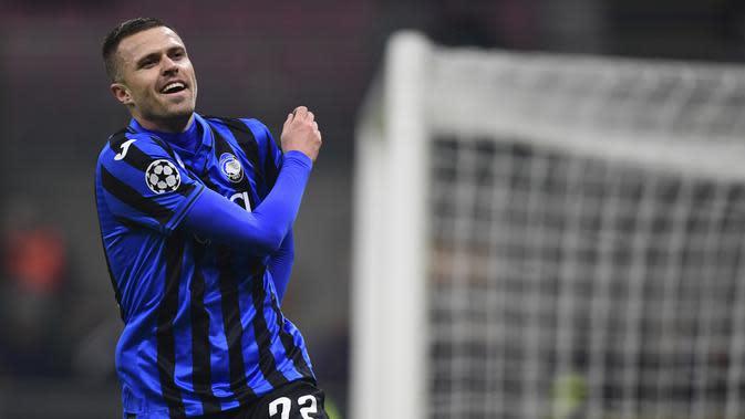 5. Josip Ilicic (Atalanta) - 15 Gol. (AFP/Miguel Medina)