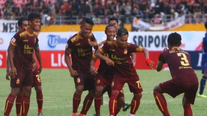 Kontestan Liga 2 2020, Sriwijaya FC