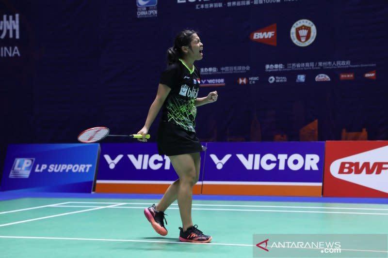 Gregoria kalah, tunggal putri habis di babak pertama Indonesia Masters