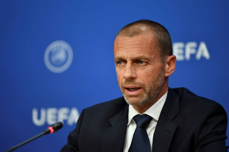 UEFA chief defends decision to play internationals in September