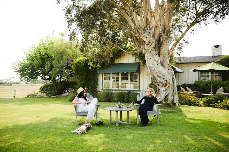 Meghan, Duchess of Sussex and Gloria Steinem in conversation.