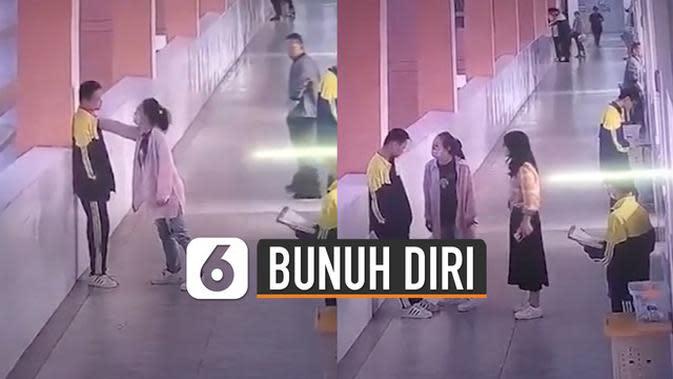 VIDEO: Remaja Bunuh Diri Setelah Ditampar Ibu di Sekolah