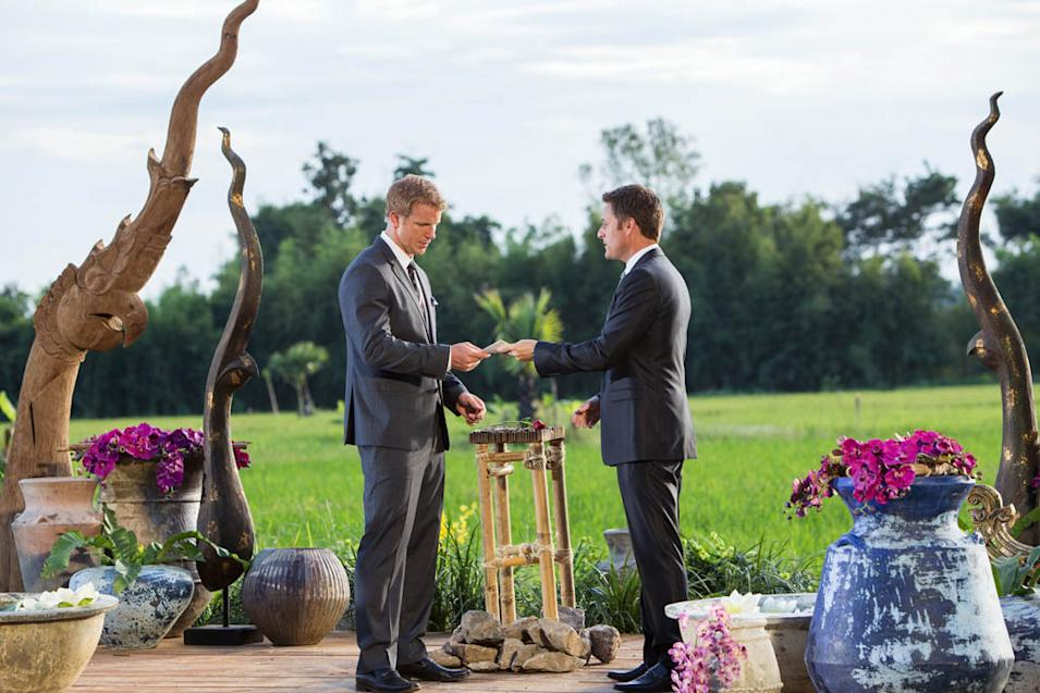 """The Bachelor"" -- ""Episode 1710"" SEAN LOWE, CHRIS HARRISON"