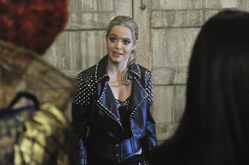 "It's the Halloween before Alison disappeared and where all of the secrets and lies began for Aria, Emily, Hanna and Spencer in ""The First Secret,"" a special Halloween-themed episode of ABC Family's hit original series ""Pretty Little Liars."""