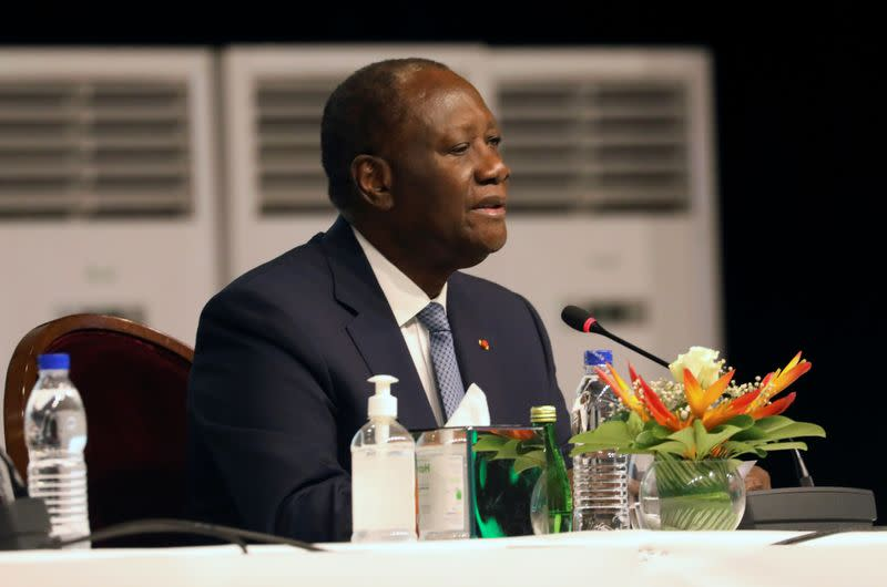 Ivory Coast President Ouattara says he will run for third term