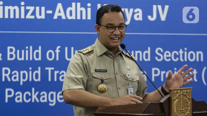 Anies: PSBB Transisi Agar Jakarta Menjadi Kota Aman dan Sehat