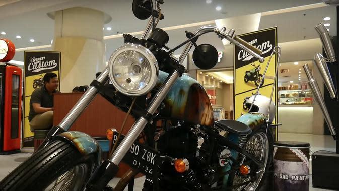 Cat Corak Karatan, Motor Ini Bikin Pangling