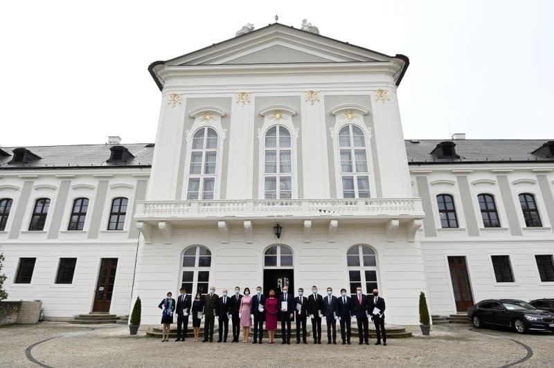 Slovak president appoints new government in Bratislava