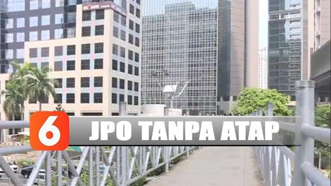 Apa Tujuan Pemprov DKI Rombak Tampilan JPO di Sudirman?