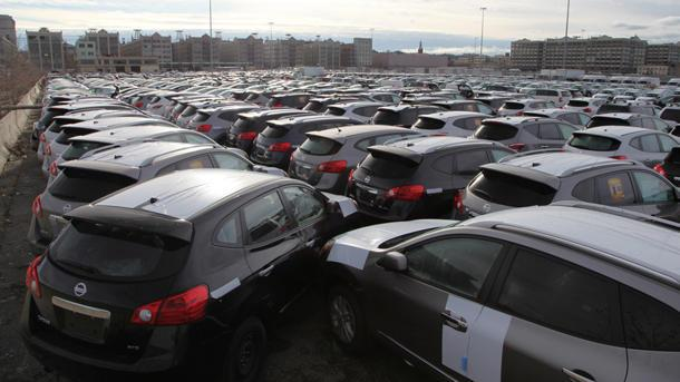 Thousands of new vehicles heading to the crusher after Sandy flooding