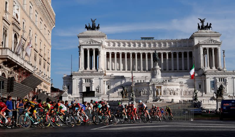Giro d'Italia at risk as UCI monitors coronavirus outbreak