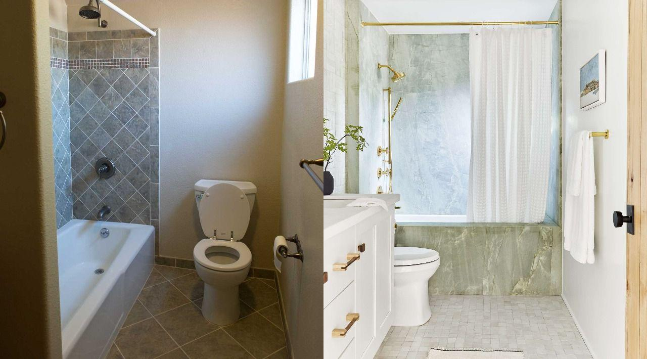 <p>OK, you've decided your bathroom needs a revamp. Whether you're looking to do a complete overhaul or change up one aspect of the space, you have to start somewhere, right? If you have a general idea of what you want to change but don't know <em>exactly</em> what you want to do with it, these bathroom remodel ideas will give you major inspo. By the end of reading, you just may want to move your shower to the end of the room or replace dull, outdated countertops. Whatever you're after, you'll be ready to move forward with your bathroom makeover after a look through these designs.</p>