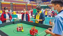 機器人大賽 189隊學生競技