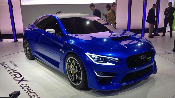 Subaru WRX Concept stuns, but what lies beneath?