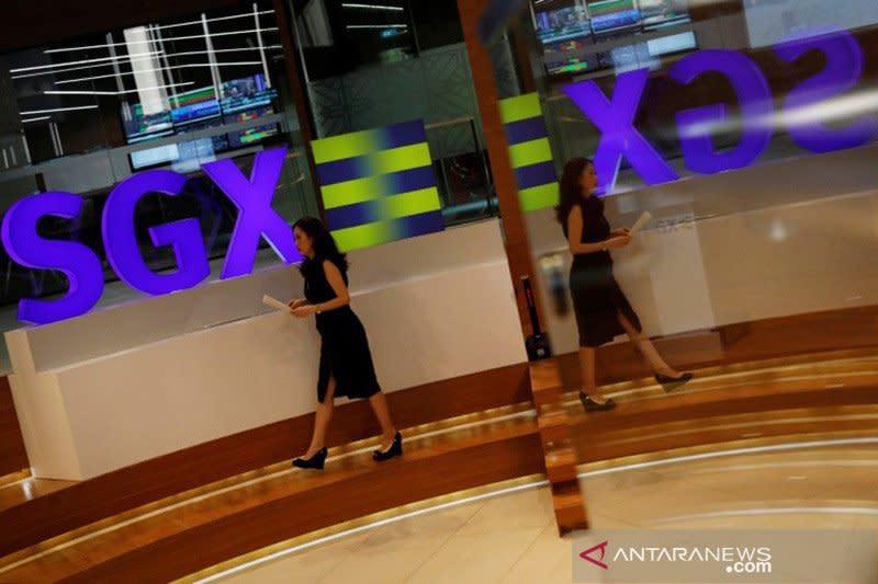 Saham Singapura ditutup naik, catat keuntungan hari keempat beruntun