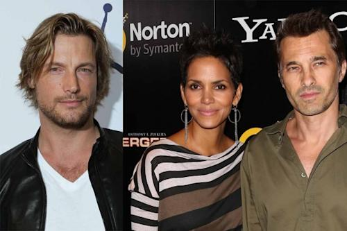 Gabriel Aubry, Halle Berry, Olivier Martinez -- Getty Images