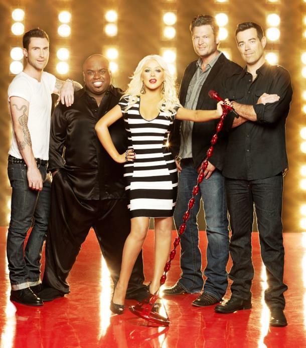 Christina Aguilera & Cee Lo Green Taking 'Voice' Hiatus; Shakira & Usher To Fill Their Chairs