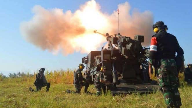 VIVA Militer: Kecabangan TNI AD Satuan Tempur Artileri Pertahanan Udara