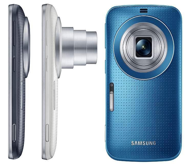 K Zoom3 Samsung Galaxy K Zoom: Android Canggih dengan Kamera 20,7 Megapixel & 10X Optical Zoom smartphone news mobile gadget