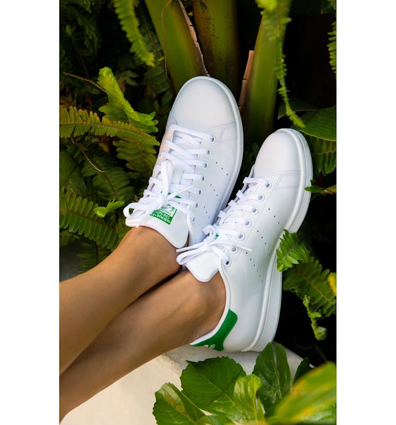 Adidas Stan Smith Sneakers. Image via Nordstrom.