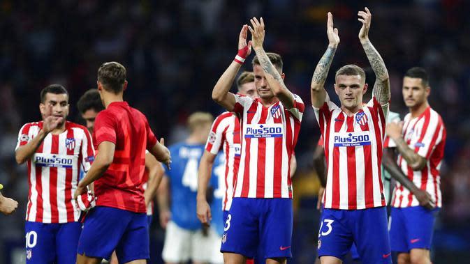 7. Atlético Madrid - 709 juta euro. (AP/Manu Fernandez)