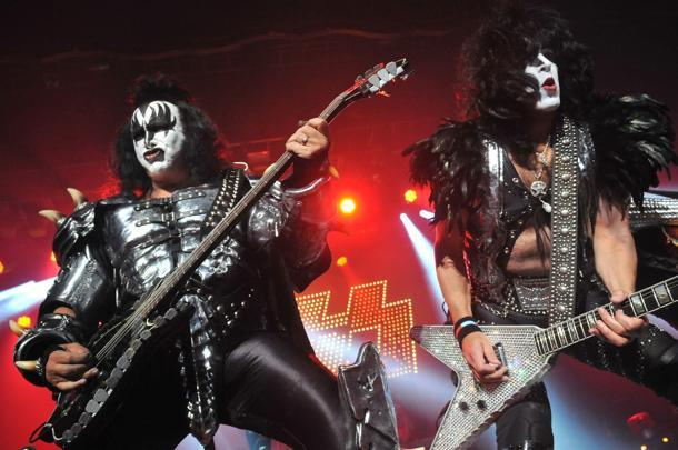 KISS Kick Off Pro Football Team in Los Angeles
