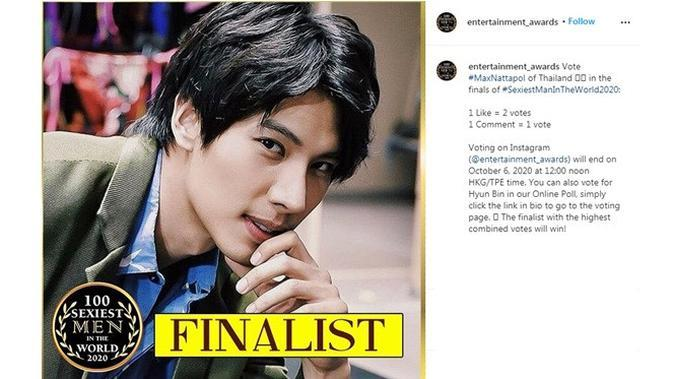 Finalis 100 Pria Paling Seksi di Dunia (sumber: Instagram/entertainment_awards)