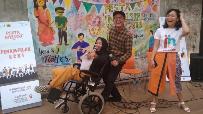 Pesta Inklusif, Rayakan Keberagaman Bersama Sobat Disabilitas