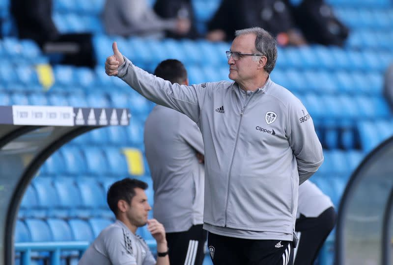 Having Bielsa in the Premier League is a gift, says Guardiola
