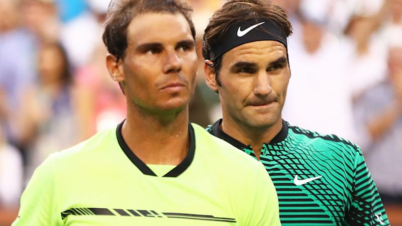 Rafael Nadal and Roger Federer are re-joining the Players Council. (Photo by Clive Brunskill/Getty Images)