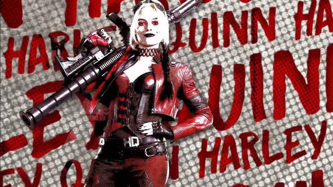 Margot Robbie sebagai Harley Quinn (YouTube/ Warner Bros. Pictures)