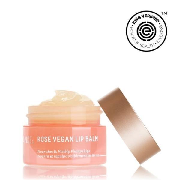 SQUALANE + ROSE VEGAN LIP BALM by Biossance