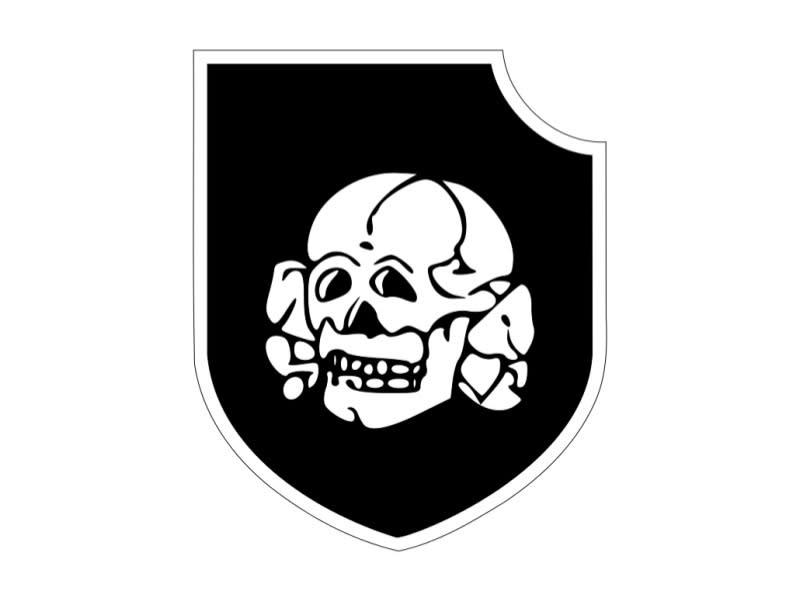 集中營屠殺象徵——骷顱頭