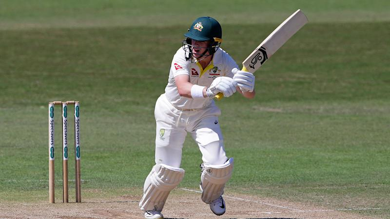 Marcus Harris is the frontrunner to open with David Warner in the Ashes. Pic: Getty