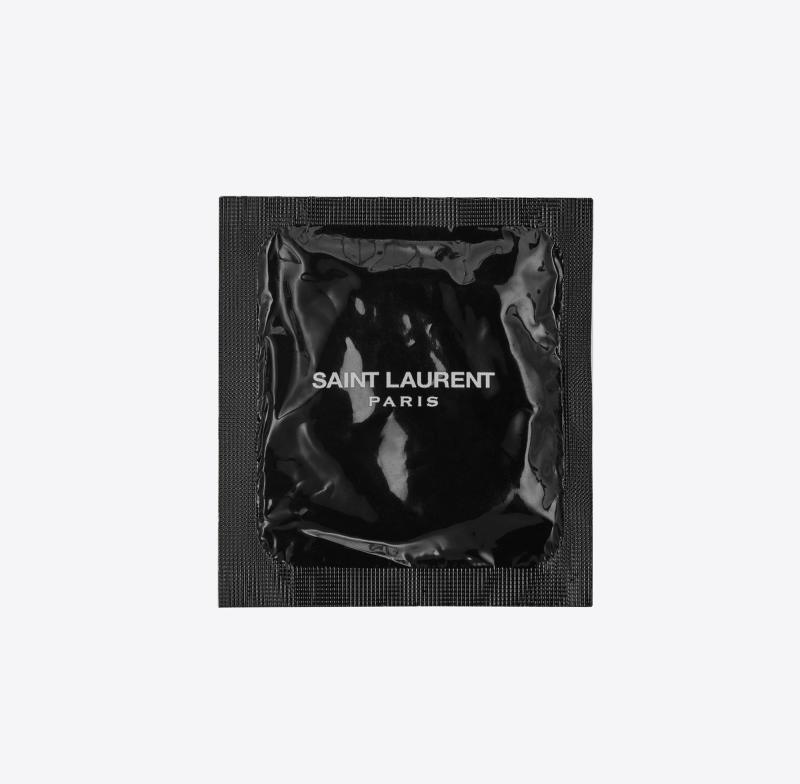 Saint Laurent condom, £5 [Photo: Saint Laurent]