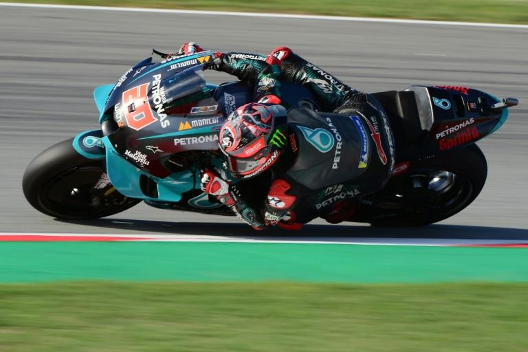 Quartararo fastest in Catalonia MotoGP practice